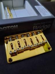 Ponte Fixa GOTOH Dourada, com buchas dourada.