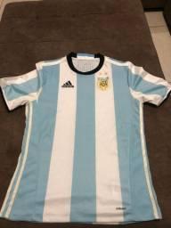Camisa da Argentina Versão Player Original
