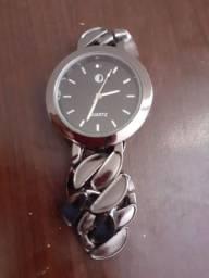 Relógio Feminino Marca Quartz Preto