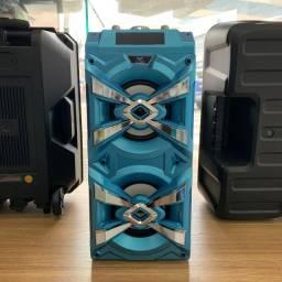 Caixa de Som Portátil com Bluetooth