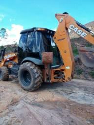 Retro escavadeira Case 580N 4x4 2020