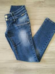 Calça jeans feminina número 38
