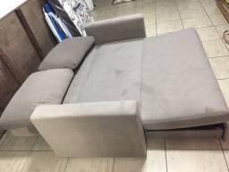 Vendo sofá-cama 2 lugares (Baixou o preço!)