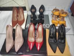 Sapatos em estado de novos, todos tamanhos 36 conservados.
