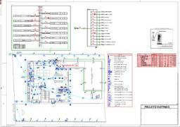Projetos elétricos, hidráulicos