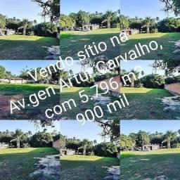 Sítio bem localizado na general Artur Carvalho