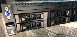 Servidor Lenovo IBM system x 3650 m5(seminovo)(completo)Leia a descrição!!