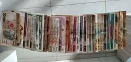 Notas antigas para colecionador