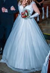 Vestido de noiva tamanho 38