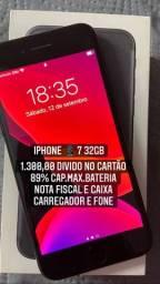 IPhone 7 32GB NA GARANTIA!!