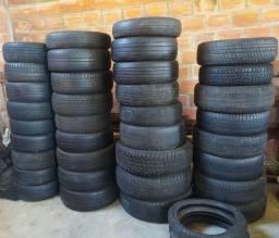 Lote de pneus de vários tamanhos (14,15,16,17,18)