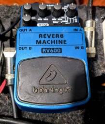 Pedal reverb beringher. Rv600. Shimmer