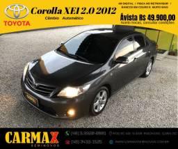 Corolla XEI 2.0 Automático 2012 Segundo Dono Impecável