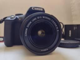 Kit Câmera Canon EOS Rebel T7 + Lente 18-55  - Oportunidade!
