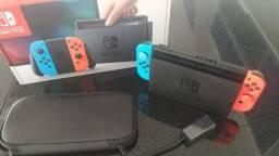 Título do anúncio: Nintendo Switch 32Gb Neon Desbloqueável
