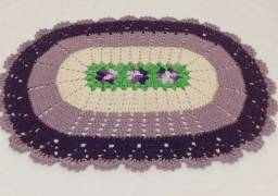 Título do anúncio: Tapete de croche oval
