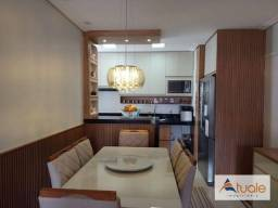 Título do anúncio: Apartamento com 2 dormitórios à venda, 58 m² por R$ 320.000,00 - Condomínio Portal das Saf
