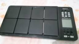 Bateria e percussão eletrônica roland spd30