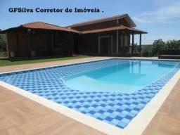Chácara 2.000 m2 Condominio Residencial Mobiliada 4 dorm. Ref. 430 Silva Corretor