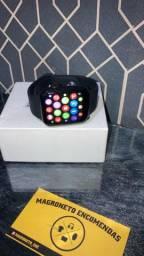 Relógio Smartwatch w26 série 6 faz e recebe chamadas pelo relógio