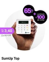 Título do anúncio: SumUp com cashback de R$100,00 + taxa 1% 3 meses