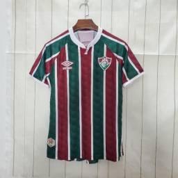 Camisa Fluminense I 20/21 Tricolor Masculina