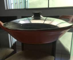 Panela ferro tipo wok
