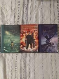 Título do anúncio: Livros Percy Jackson