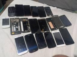 Título do anúncio: Lote celulares defeito