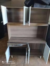 Armário de cozinha 8 portas 1 gaveta