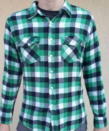 Camisa xadrez flanela TNG