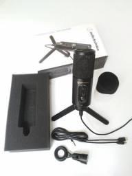 Microfone Audio-technica Cardioide Condensador- Atr2500x-usb