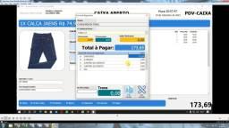 Título do anúncio: sistema controle vendas com nota fiscal eletronica cte nfc-e  danfe  p/ pc notebook ifood