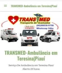 Título do anúncio: Ambulância Particular em Teresina 24hs