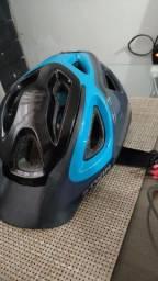Capacete de ciclismo Btwin super conservado