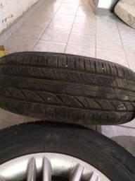 Título do anúncio: Rodas aro 15 pneus novo