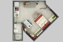 Apartamento com 1 dormitório à venda, 38 m² por R$ 213.015,00 - Vila Portes - Foz do Iguaç