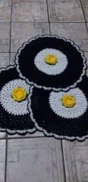 Título do anúncio: Um jogo de banheiro em crochê