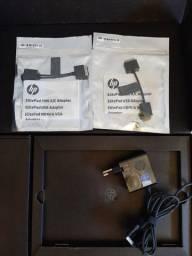 carregador original do hp elite pad 1000 g2 e 2 adaptadores