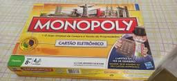Jogo Monopoly c/ cartão eletrônico