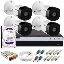 Kit Inltelbras 4 cameras Full HD