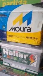 Título do anúncio: Bateria  Moura / heliar.