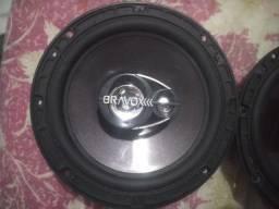Auto falante Pioneer Bravox 6M/ 04 ohms excelente estado