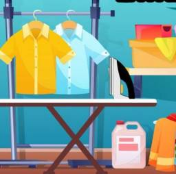 Título do anúncio: Lavadeira e passadeira