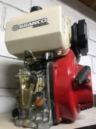 Motor diesel acionado  10 CV R$ 2490,00