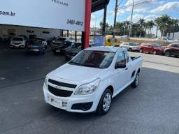 Título do anúncio: Chevrolet Montana 1.4 LS 2019!!! Completa + 4 pneus seminovos