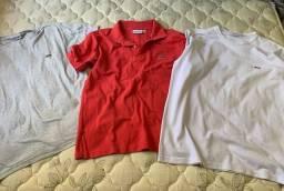 Lote camiseta masculina tamanho g semi novas