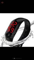 Relógio m3 digital led