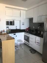 Lindo apartamento 1/4 mobiliado e decorado Vista Mar