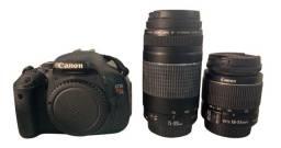 Título do anúncio: Câmera Canon EOS Rebel T3i